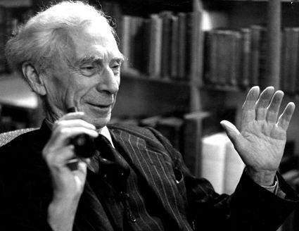 British philosopher Bertrand Russell (1872 - 1970)